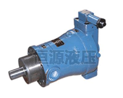柱塞泵工作原理及结构形式